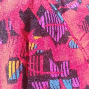 LuLaRoe Pants - Super cool never worn Lularoe OS leggings